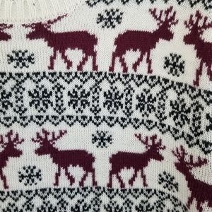 Forever 21 Sweaters - Forever 21 Reindeer Winter Snowflake Sweater